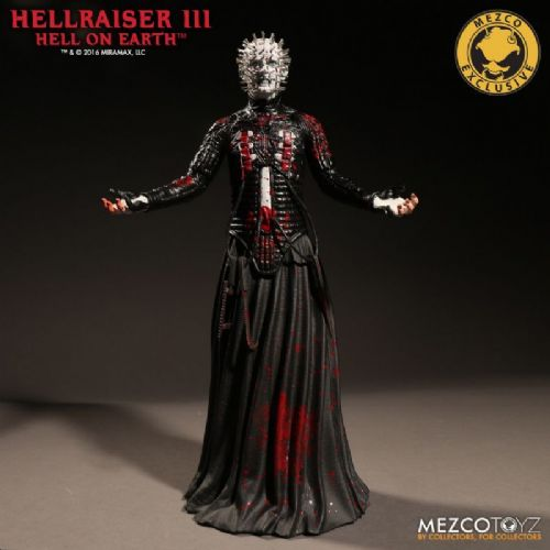 "HELLRAISER III PINHEAD 12"" FIGURE BLOODY VARIANT LIMITED EDITION EXCLUSIVE MEZCO"